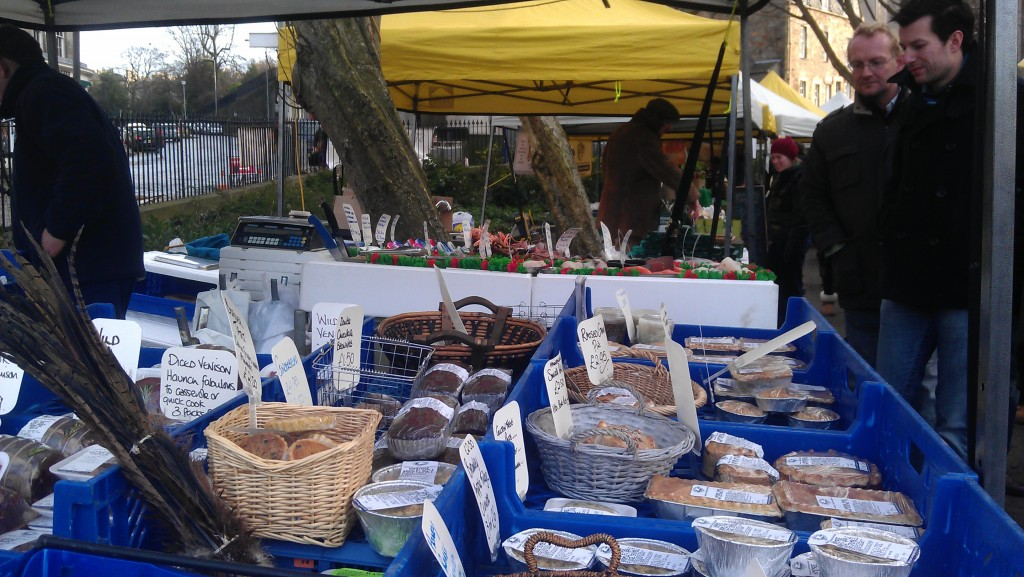 Stockbridge Food Market Edinburgh